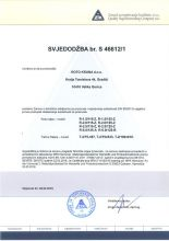 ZIK certifikat
